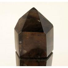 Полированная призма Дымчатый кварц Мадагаскар №16-449